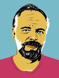 Philip Dick drawing (from http://it.wikipedia.org/wiki/File:Philip_k_dick_drawing.jpg)